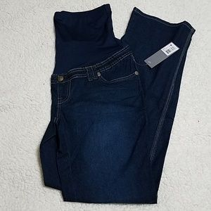 Denim - Brand New Maternity Dark Wash Jeans